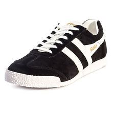 Gola Classics Harrier Mens Suede Black White Trainers