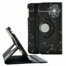 New 360 Rotating PU Leather Stand Case Cover Dandelion For iPad air 2/3/4 mini