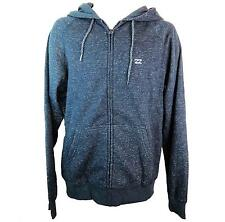 Billabong Mens Balance Zip Hoody Overhead Blue Zip Up Front Long Sleeve Hoody Ne