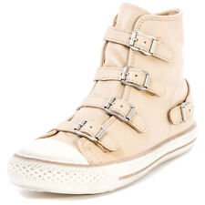 Ash Virgin Womens Leather Beige Trainers