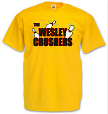 THE WESLEY CRUSHERS T-SHIRT - Cooper Big Bowling Bang Sheldon Team Theory Nerd