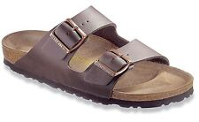 Birkenstock Unisex Arizona Dark Brown Birko-Flor