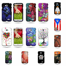 Hard Plastic Snap On Design Cellphone Case for LG Realm / Pulse