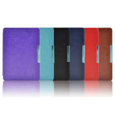 "6"" Shell Magnetic Slim Leather Case Cover Pouch For kobo touch 6.0 inch eReader"