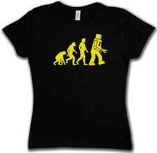 THE BIG BLACK ROBOT EVOLUTION BANG THEORY GIRLIE SHIRT - Sheldon Nerd Cooper TV