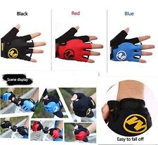 Half Finger Bike Bicycle Breathable Cycling Sports GEL Shockproof Pad Glove M-XL