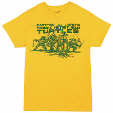 TEENAGE MUTANT NINJA TURTLES EASTMAN/LAIRD LOGO COMICS TMNT LEO MENS T SHIRT
