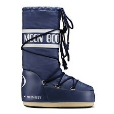 Moon Boot by Tecnica Children's Winter SHOES warm BOOTS Girls Boys Nylon Blue