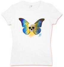 SKULL BUTTERFLY I HATE COUTURE GIRLIE T SHIRT Rockabilly Tattoo Old school Indie