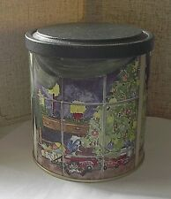 1998 Holiday Spice Cake Candle Metal Collectible TIN Sweet Dreams Mary Ann Bucci