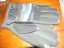 MENS ISOTONER GLOVES,SMART TOUCH,OPERATE YOUR SMART PHONE,TOUCH SCREEN W/THEM ON