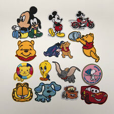 Cute Machine Embroidery Sew Iron On Applique Patch Cartoon Characters B