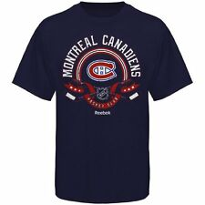 Montreal Canadiens Reebok The Main Attraction T-Shirt - Navy Blue