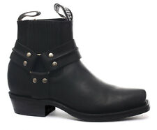 Grinders Renegade Lo Black Mens Cowboy Boots ALL SIZES