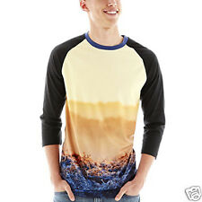 Morning Deer Mesh Raglan-Sleeve Tee New Size M, L, XL