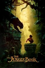 The Jungle Book Bagheera & Mowgli Teaser Poster