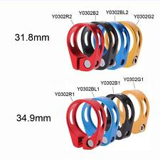 31.8mm Cycling Bicycle Road Bike Quick Release Seatpost Seat Post Clamp YC Y3L8
