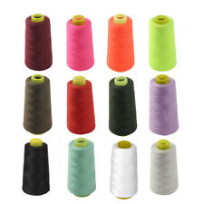 3000 Yards Top Quality Overlocking Sewing Machine Polyester Thread Cones 40s/2