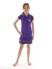 Brunotti Summer Dress Shirt dress Isiaka purple Polo neck Ruffle