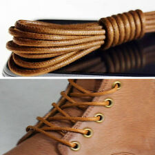 Waxed Round Shoe Laces Shoelace Bootlaces Leather Brogues multi color 27.6'' CA