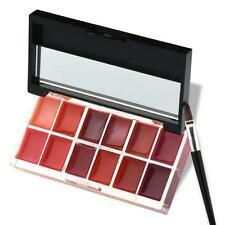 Professional 12 Color Lady Beauty Makeup Palette Cosmetic Gloss Lipstick Lip Set