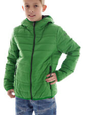 CMP Between-seasons Jacket Quilted jacket green hood Zipper Pockets warm