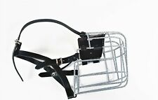 Strong Metal Wire Rubber Plastic Basket Dog Muzzle Great Dane