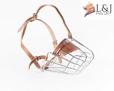 New Strong Metal Wire Basket Dog Muzzle St. Bernard ,and Other big dogs