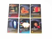 1996 Skybox Star Trek The Card Game Promo Card Set (6 Different Cards) Nm/Mt