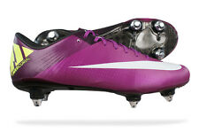 Nike Mercurial Vapor Superfly III SG Mens Soccer Boots / Cleats - Red Plum 9548