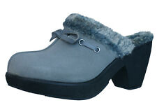 Skechers Disco Bunny Boogie Down Womens Clogs / Shoes - Grey 46924 CCL