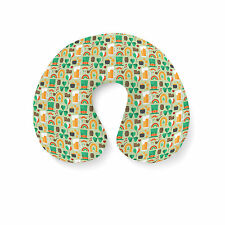 Lucky St Patricks Day Travel Neck Pillow - Inflatable
