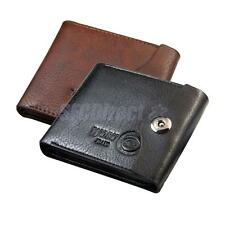 New Mens Slim PU Leather Bifold Wallet Credit/ID Card Holder Purse Pocket Gifts