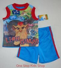 THE LION GUARD Toddler Boys 2T 3T 4T 5T Set OUTFIT Shirt Tank Shorts DORY Disney