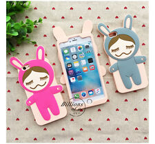 Cute 3D Silicone Doll Soft Cases Skins Covers for Iphone Apple 5S 6S 6S Plus