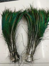 Wholesale peacock feather sword 14-16 inch left and right sides are symmetrical