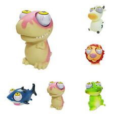 Unique 1Pc Rubber Animal Doll Stress Relief Eye Squeeze Vent Soft Toy 4 Styles