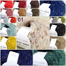Sale 1Ball X 50gr Soft Warm NEW MOHAIR HAND KNITTING YARN Angora Silk Colorfu B
