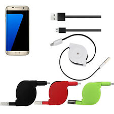 Protable 90cm V8 USB Stretch Transfer Charger Micro USB Data Charging Cable New