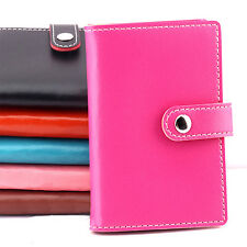 20 SLOTS ID BUSINESS CREDIT CARD HOLDER WOMEN MEN PRECIOUS FAUX LEATHER CASE