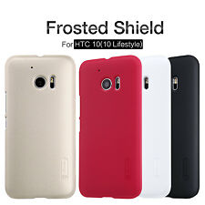 Genuine Nillkin Super Matte Hard Frost Cover Case + Screen Protector For HTC 10
