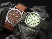 Military Army Men's Watches Date Stainless Steel Dial Sport Quartz Wrist Watch