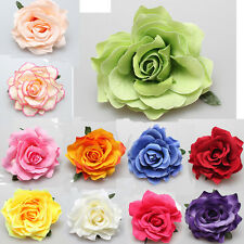 1/2/5x Bridal Rose Flower Hair Clip Hairpin Brooch Wedding Bridesmaid Party Deco