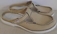 CROCS MELBOURNE SHECON WOMEN'S TAN CANVAS SHOES NEW WITH TAGS