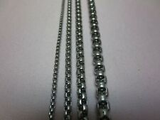 "2/3/4/5/6mm 16-60"" PEARL BOX LINK SILVER STAINLESS STEEL CHAIN NECKLACE"
