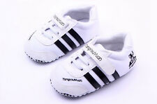 Infant Toddler Baby boys Girls Baby Shoes White Sports shoes size 0-18 Months