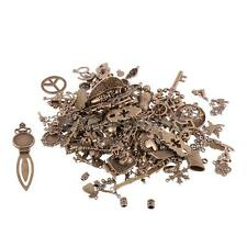 500g Mixed DIY Charms Beads Pendant Jewelry Making Findings Crafts-Silver/Bronze