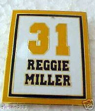 Reggie Miller Indiana Pacers Jersey Retirement Pin NBA