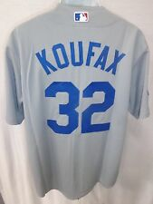 Los Angeles Dodgers Randy Koufax Cooperstown Collection Sewn Jersey Gray