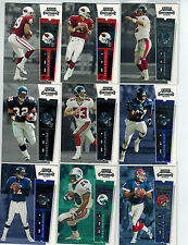 2000 PLAYOFF CONTENDERS FOOTBALL 100-CARD BASE SET LOADED W/STARS
